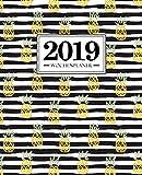 Wochenplaner 2019: 19 x 23 cm: Ananas 6484