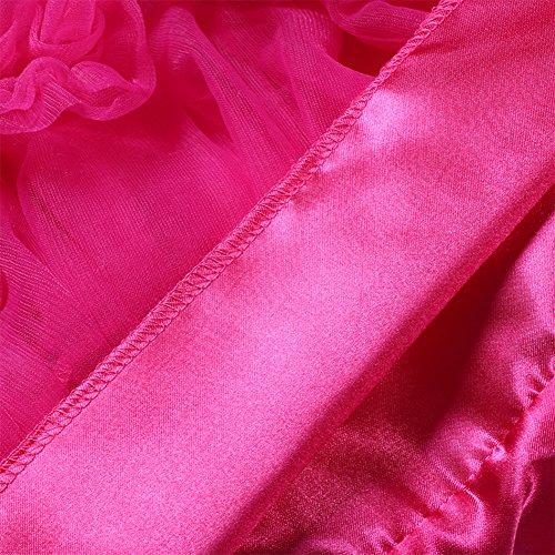 Find Dress 1950s Vintage Rockabilly Petticoat Retro Ballet TUtu Reifrock Underskirt Swing Tüllrock Wedding Bridal 50er Jahre unterkleider Crinoline Reifrock Schwarz FD10380Pink S-M -