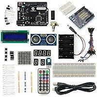 SainSmart 20-013-134 Leonardo R3 Basic Projects Kit, Arduino - ukpricecomparsion.eu