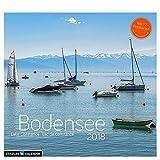 Bodensee 2018: Postkarten-Tischkalender -