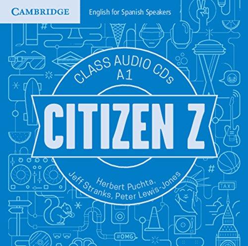 Citizen Z A1 Class Audio CDs (4) - 9788490366301