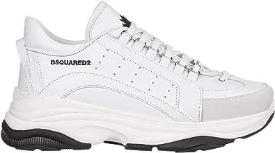 dsquared Scarpe Uomo Sneakers in Pelle Bumpy 551 Low Top SNM0047 06500001 M1216
