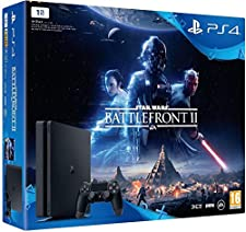 PS4 Slim 1 To + Star Wars Battlefront II