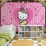 Hello Kitty - Forwall - Fototapete - Tapete - Fotomural - Mural Wandbild - (4-901WM) - L - 152.5cm x 104cm - VLIES (EasyInstall) - 1 Piece