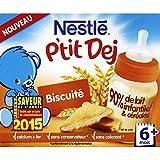nestlé P'tit dej biscuit - ( Prix Unitaire ) - Envoi Rapide Et Soignée