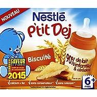 Nestlé P'tit Dej Biscuit - ( Prix Par Unité ) - Envoi Rapide Et Soignée