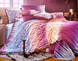 Shades of Butterfly Cotton Double Bedshe...