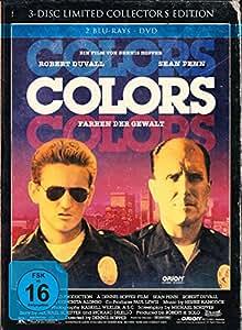 Colors - Farben der Gewalt - Limited Collector's Edition im Mediabook  (+ DVD) [Blu-ray]