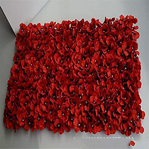 ZQ@QXThe carpet arch tracery wall flower,redArtificial Flowers