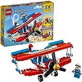 LEGO Creator 3in1 Daredevil Stunt Plane Building Blocks for Kids 7 to 12 Years (200 Pcs) 31076