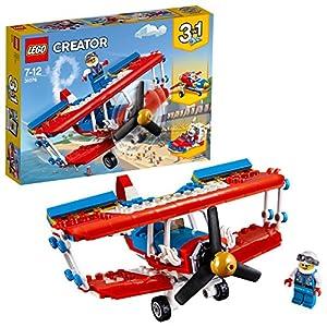LEGO- Creator Biplano Acrobatico, Multicolore, 31076  LEGO