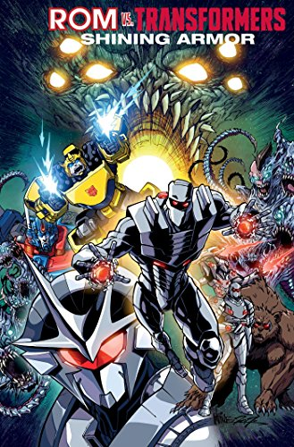 Rom vs. The Transformers: Shining Armor por Christos Gage