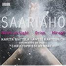 Kaija Saariaho: Notes on Light / Orion / Mirage