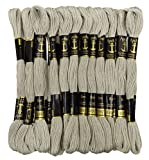 Anchor Threads 25 x Stranded Cotton Cross Stitch Hand Embroidery Thread Floss Skeins-Off-White