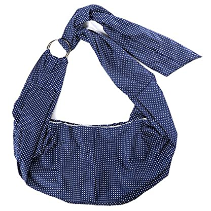 Xcellent Global Denim Sling Carrier Bag for Puppy Pet 21x13x6.7 inch Shoulder Carry Handbag PT017 1