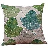symboat grünen Blättern Kissenhülle KissenHülle