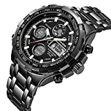 Best Chronograph Watches - Men's Digital Quartz Analog Sport Watches for Men Review