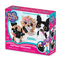 Orb Factory 621442 - Plush Craft Puppy Pack 3D mini figures, plush