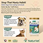 NaturVet Outta My Box Cat Stool Deterrant for Dogs and Cats (500 Soft Chews) 17