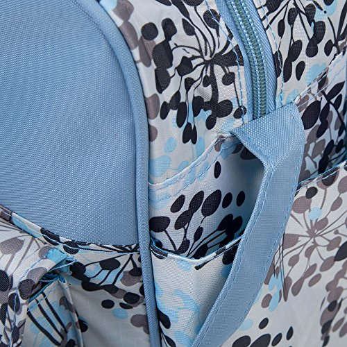 Multifunktionale Baby Windel Windel Handtasche Wasserdicht Bunt bedruckt Reißverschluss Mumienschlafsack Dandelion Pattern