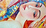 Mbwlkj 3D Tapete Benutzerdefinierte Wandmalereien Vintage Wanddekoration Abstrakte Hand Gemalte Schönheit Kleines Wohnzimmer Einrichtungsideen Zimmer Dekor Schlafzimmer Dekoration-300Cmx210Cm