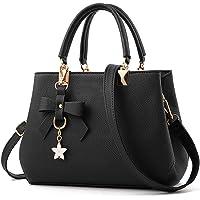 URAQT Damen Handtasche Schulterbeutel,PU Leder Damenhandtaschen Frauen Stilvolle PU Schultertasche Taschen Umhängetasche…