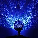 OurLeeme Romantische Jahreszeiten-Sterne Sterne Sterne Lampe Douze Constellations Motiv Anzeige