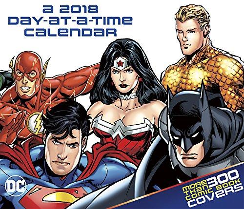 Dc Comics 2018 Calendar