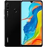 HUAWEI P30 lite ny utgåva 15,6 tum (6.15 tum) 6 GB 256 GB Hybrid Dual SIM svart 3340 mAh P30 lite ny utgåva, 15,6 tum (6.15 t