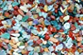 Edelsteine, polierte Trommelsteine, bunte Mischung, Größe mini, ca. 0,5 - 1 cm, 500 g-Beutel von Esoterik-Versand bei Du und dein Garten