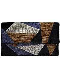 5b51090b8e716 GreenGate Gate Noir - Clutch Handtasche Tasche Partytasche - Art Deco