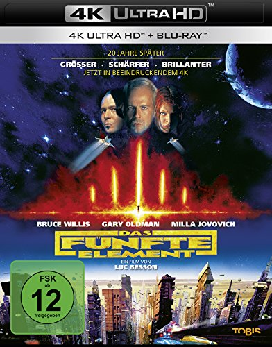 Das Fünfte Element - Ultra HD Blu-ray [4k + Blu-ray Disc]