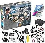 CamPro Extreme - Komplettes Sport 52 Bild Kamera Zubehör Bündel, 23 in 1 Set Kit für offizielle Gopro Go Pro Hero 1 2