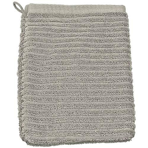 Gant de Toilette Jacquard Uni 16x22cm 550gr/m² Coton LINIO