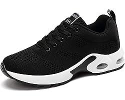 GAXmi Donna Cuscino d'Aria Scarpe da Ginnastica Corsa Sportive Respirabile Mesh Running Fitness Sneakers Basse Basket Sport