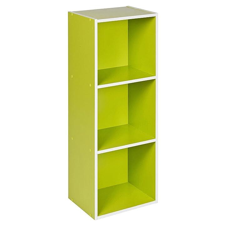 Amazon.De: Top Home Solutions® 3 Set Holz Bücherregal Regalsystem
