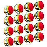16 Pezzi Palline da Golf Spugna EVA Schiuma Palle da Golf Praticante Formazione Interno Palline da Golf per Principianti Bambini e Dilettanti
