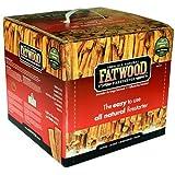 10LB FATWOOD BOX 100% NATURAL FIRESTARTER [Garden & Outdoors]