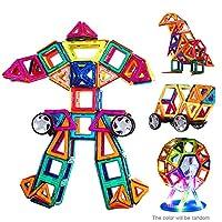 Specifiche: Colore: casuale Quantità: 72 pezzi Materiale: magnete Età: Oltre 4 anni di età Stile di disegno: Forma geometrica Stile puzzle: Puzzle 3D Lavatrice: Sì Applicabile genere: Unisex Dimensioni del pacco: 26.6 * 17,7 * 15cm / 10.5 * 7 * 6 in ...