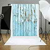 #7: Zibuyu Photography Background,Wood Vinyl Studio Photography Background Backdrop