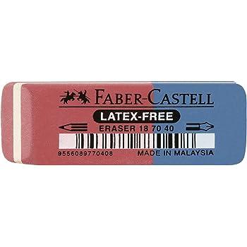 Faber-Castell 187040 - Radierer Latex-free, Tinte/Blei, 7070-40