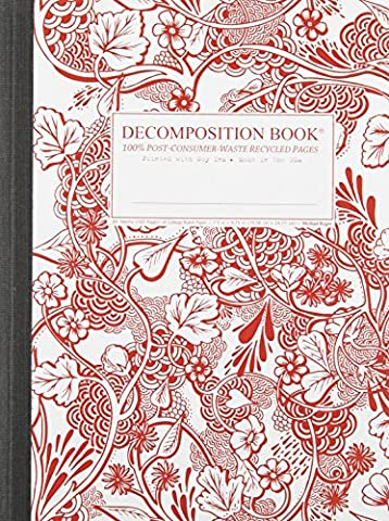 Wild Garden Decomposition Book: College-Ruled Composition Notebook With 100% Post-Consumer-Waste