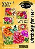 Telecharger Livres Divinity Boutique carte de vœux Assortiment anniversaire pour elle papillon Blooms avec ecritures 21709 N (PDF,EPUB,MOBI) gratuits en Francaise