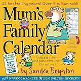 Mum's Family Wall Calendar 2018
