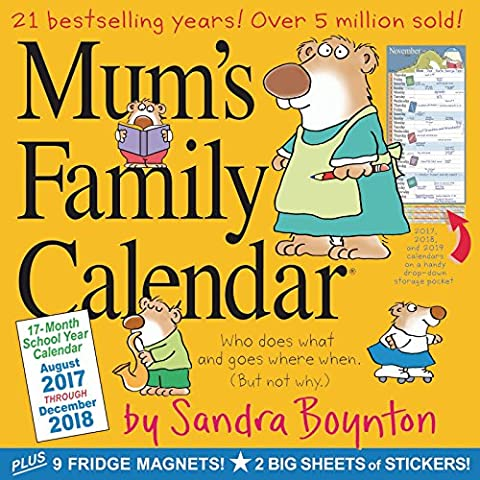 Mum's Family Wall Calendar