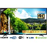 Weston 165.1 cm (65 inches) WEL-6500 4K UHD LED Smart TV