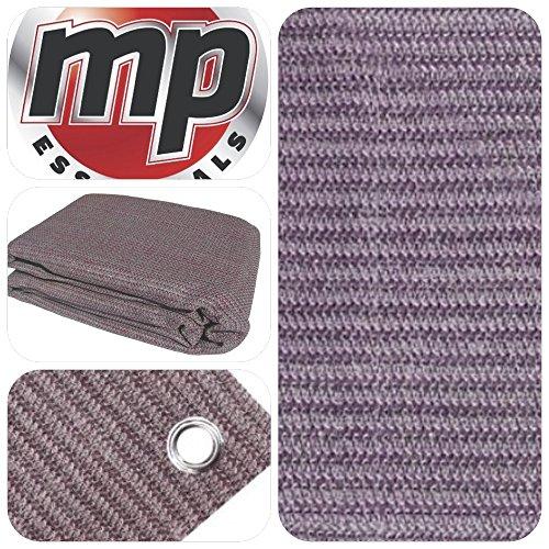 MP Essentials - Estera transpirable y resistente al agua para exterior, para suelo y tiendas de campaña, color PLUM & GREY, tamaño 2.5 x 4.5m
