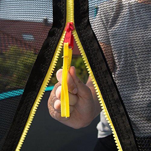 Ultrasport Gartentrampolin Jumper, Trampolin Komplettset inklusive Sprungmatte, Sicherheitsnetz, gepolsterten Netzpfosten und Randabdeckung - 7
