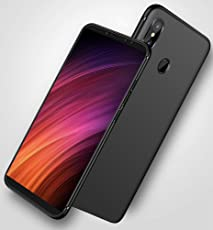 Edge3 Mi Redmi Note 5 Pro Slim Stealth [TPU] Case with Camera Protection(Black Matte)
