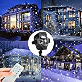 PROJECTOR Snowflakes projector LED Next Snow Lights Outdoor Waterproof Projector Lamp Landscape Lawn Lamp Wall Decoration, Party Light, Garden Light for Parties, Christmas, Carnival